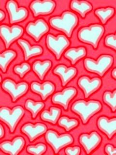 Hearts 2 Mobile Wallpaper