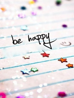 Be Happy  Mobile Wallpaper