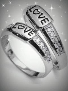 Love Rings  Mobile Wallpaper