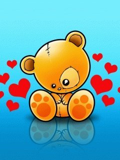 Sweet Bear Mobile Wallpaper