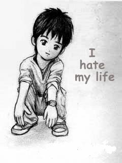 Download I Hate My Life Mobile Wallpaper Mobile Toones