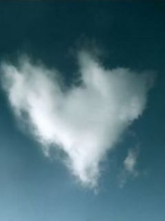 Love Clouds Mobile Wallpaper