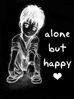 Alone And Happy Mobile Wallpaper