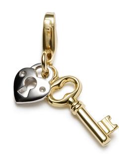 Heart Keys Mobile Wallpaper