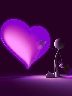 Violet Mobile Wallpaper