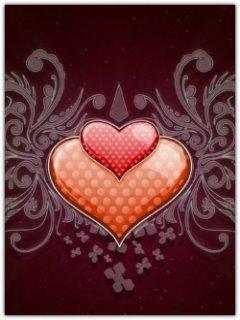 Twin Heart Mobile Wallpaper