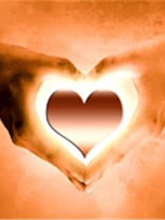 Rilluminated Heart Mobile Wallpaper