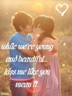 Kissesss Mobile Wallpaper