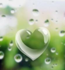 Heart Buble Mobile Wallpaper