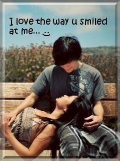 Love Ur Smile Mobile Wallpaper