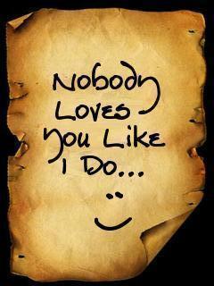 Love Note 4 U Mobile Wallpaper