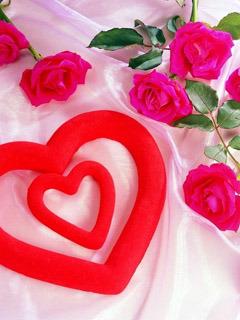 Valentine Day Heart Mobile Wallpaper