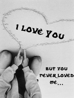 You Never Loved Me Mobile Wallpaper