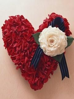 Red Lover Heart Mobile Wallpaper