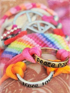 Love Peace Mobile Wallpaper