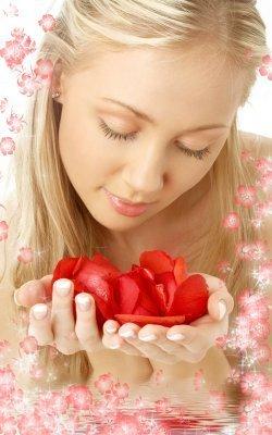 U R My Petals Mobile Wallpaper