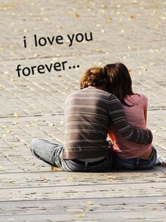 Love Forever Mobile Wallpaper