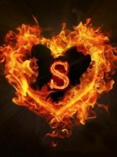 Flame_Heart Mobile Wallpaper