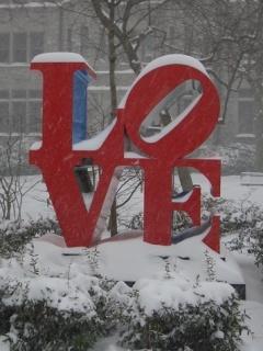 Love In Winter Mobile Wallpaper
