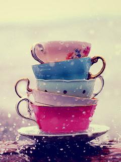 Love Cups Mobile Wallpaper