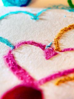 Nice Lovely Hearts Mobile Wallpaper