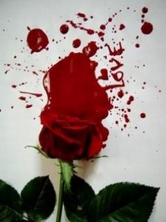 Bloody Love Mobile Wallpaper