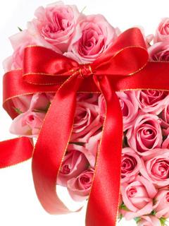 Gift Flower Mobile Wallpaper