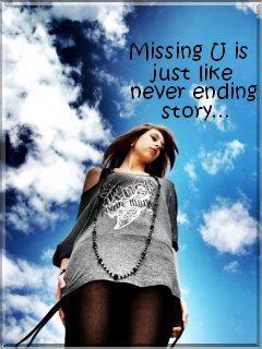 Missing U Mobile Wallpaper