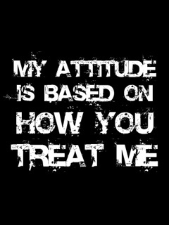 Download My Attitude Mobile Wallpaper Mobile Toones