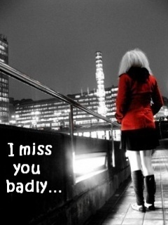 Miss You Badly Mobile Wallpaper