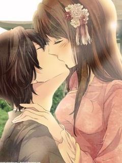 Anime Love Mobile Wallpaper