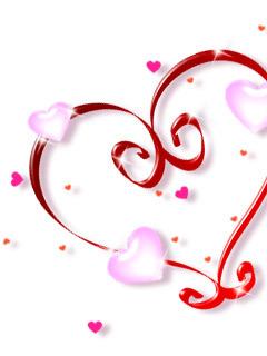 Hot Heart Mobile Wallpaper
