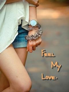 Feel My Love Mobile Wallpaper