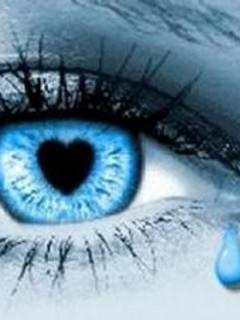 Love Eye Mobile Wallpaper