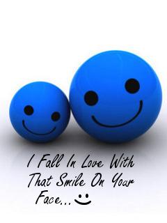 Smiley Love Mobile Wallpaper