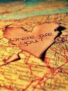 Love Map Mobile Wallpaper