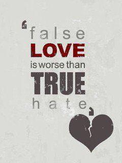 False Love Mobile Wallpaper