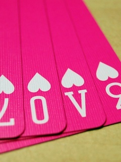 Love Poker Mobile Wallpaper