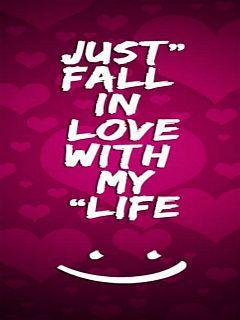 Fall In Love Mobile Wallpaper