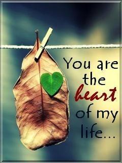 Heart Of Life Mobile Wallpaper