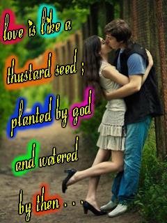 Love Is Like Mobile Wallpaper