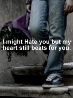 Love Hate Mobile Wallpaper