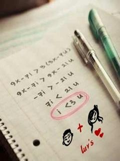 Love Math Mobile Wallpaper