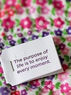 Enjoy The Life Mobile Wallpaper