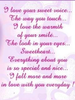 Love Words Mobile Wallpaper