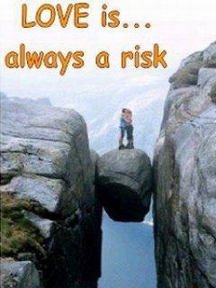 Love Is Risk Mobile Wallpaper