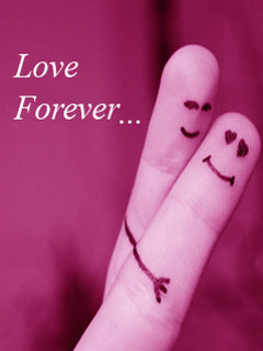 Love Forever Mobile Wallpaper