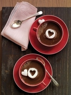 Love Coffee Mobile Wallpaper