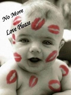 Loving Baby Mobile Wallpaper