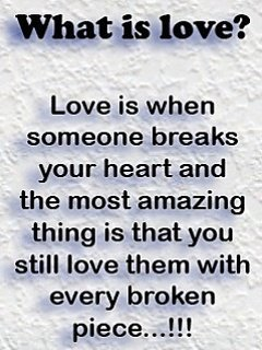 What Is Love Mobile Wallpaper